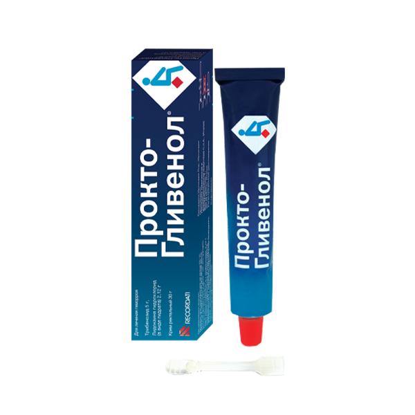 Прокто-гливенол крем туба 30г