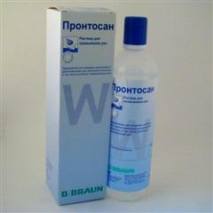 Пронтосан (р-р 350мл д/промыв. ран)