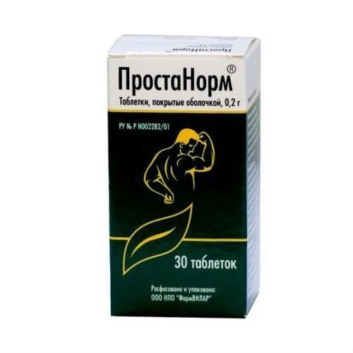 Простанорм (таб. п/о 200мг №30)