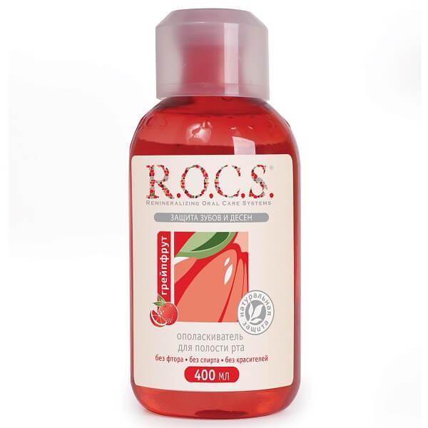 Рокс ополаскиватель для рта флакон 400мл грейпфрут