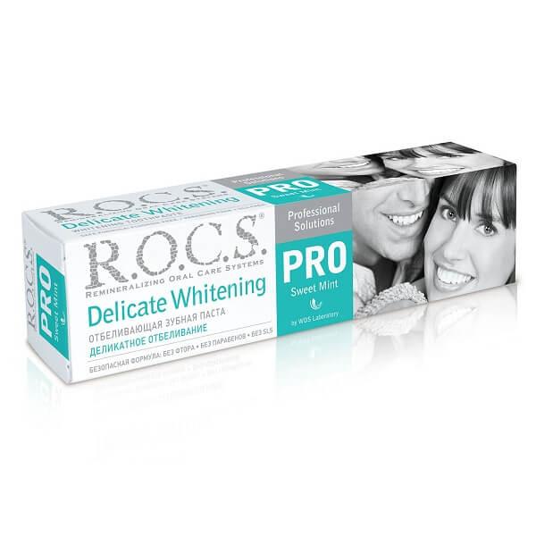 Рокс зубная паста (135 г.отбел.PRO делик.SWEET MINT)