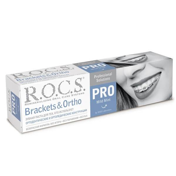 Рокс зубная паста Брекет Орто 135г