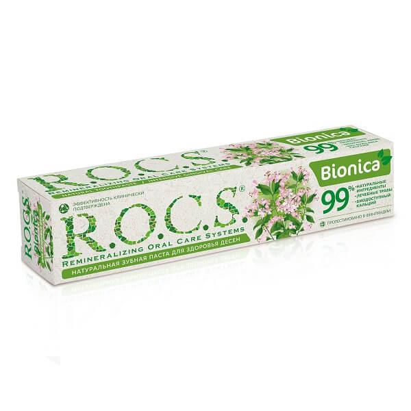 Рокс зубная паста (74г Бионика д/здор.десен п/кровот/воспален.)