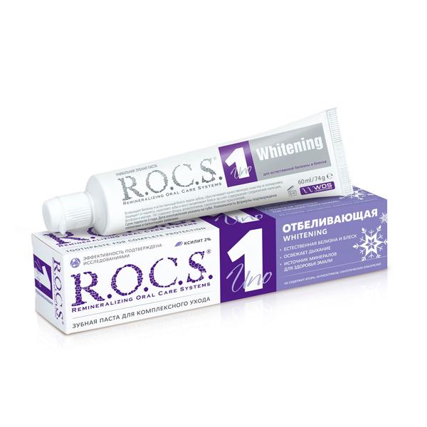 Рокс зубная паста Отбеливающая 74г
