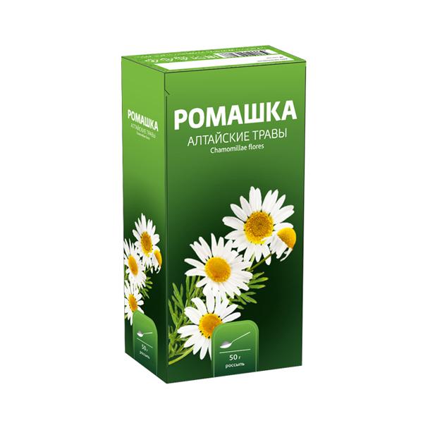 Ромашки цветки фиточай 50г