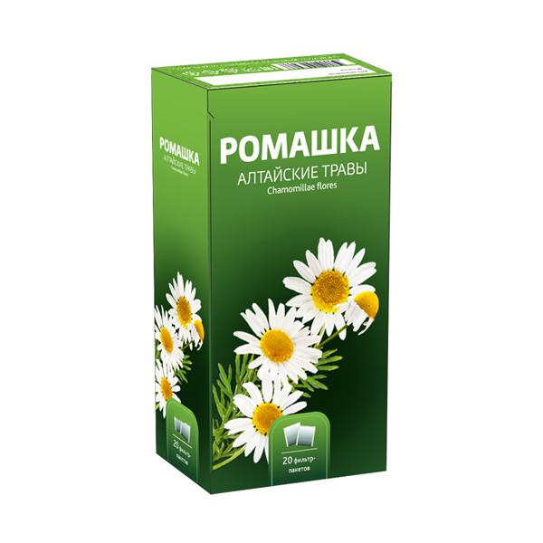Ромашки цветки фильтр-пакеты 1,5г №20