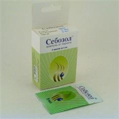 Себозол (пак. 5мл №5 шампунь от перхоти)