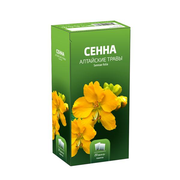Сенна листья фильтр-пакеты 1,5 №20