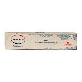 Сертамикол (крем 2% туба 20г)