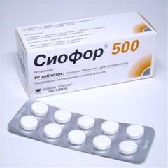Сиофор-500 (таб. 500мг №60)