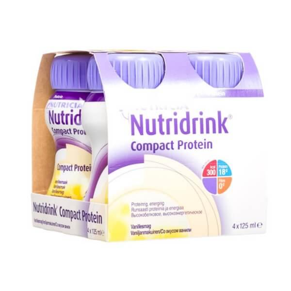 Смесь Нутридринк компакт протеин (ваниль 125мл №4)