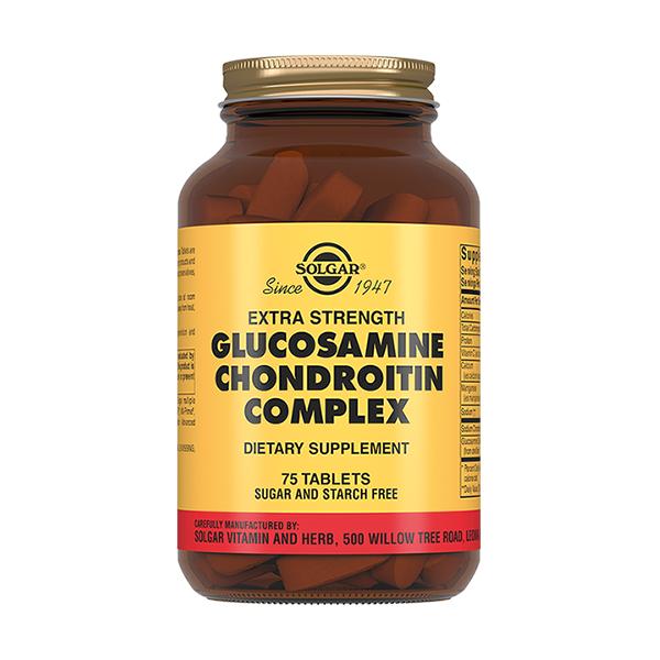 Солгар (глюкозамин хондроитин плюс таб. 1750мг №75)