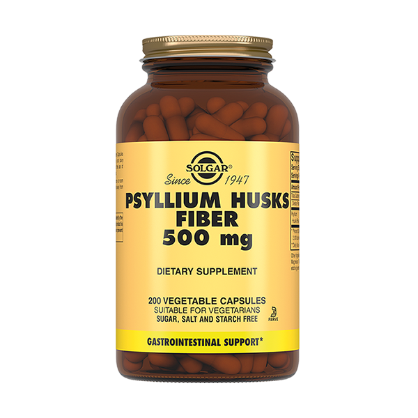 Солгар (Псиллиум клетчатка кожицы листа 500мг капс. №200) фото