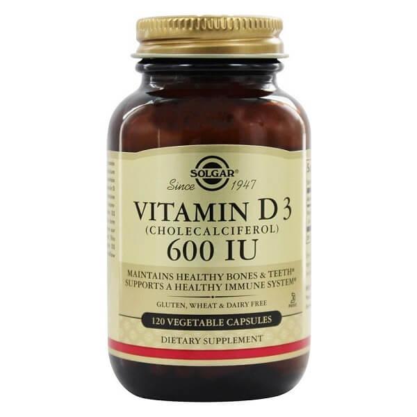 Солгар (витамин D3 600МЕ капс. №120)