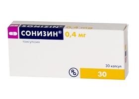 Сонизин (капс. 0,4мг №30)