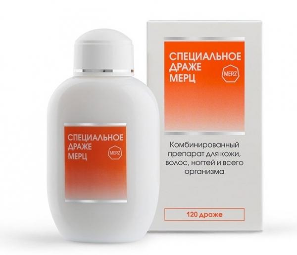 Специальное Драже Мерц капсулы 675мг №120
