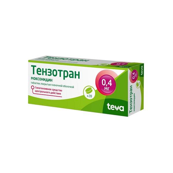 Тензотран (таб. п/о 0,4мг №28)