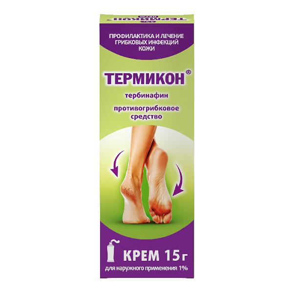 Термикон крем (туба 1% 15г)