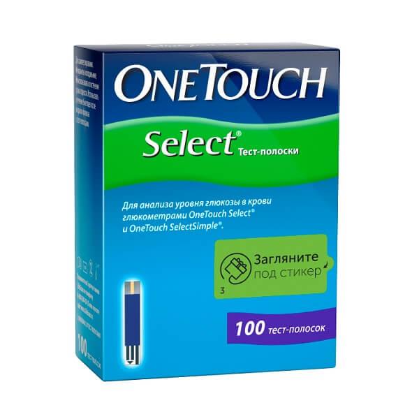 Тест полоски One Touch (select №100)