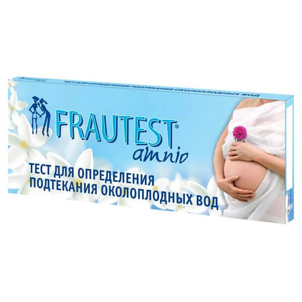 Тест-прокладка (№1Frautest Amnio д/опред.подтекан.околоплод.вод)