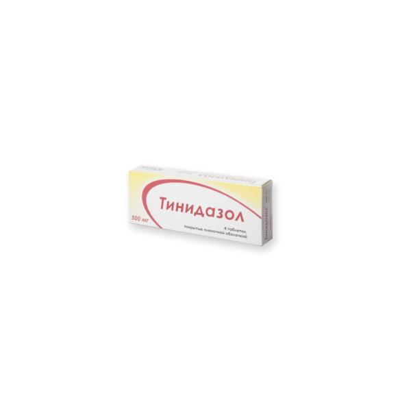 Тинидазол (таб. 500мг №4)