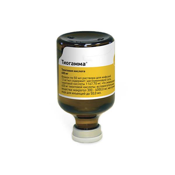 Тиогамма (фл. 1,2% 50мл) фото