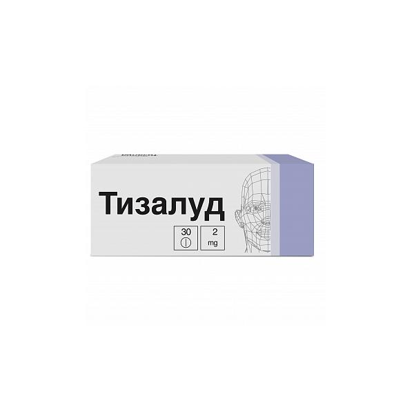 Тизалуд (таб. 4мг №30)