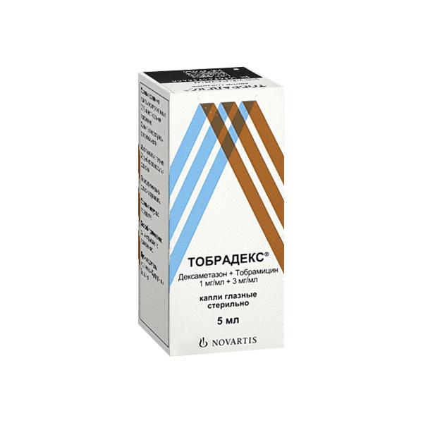 Тобрадекс (фл.-кап. 5мл гл. кап.)