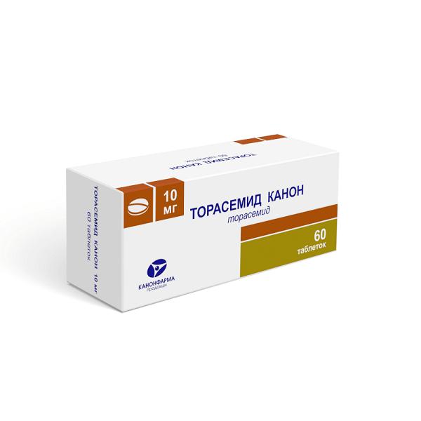 Торасемид Канон таблетки 10мг №60