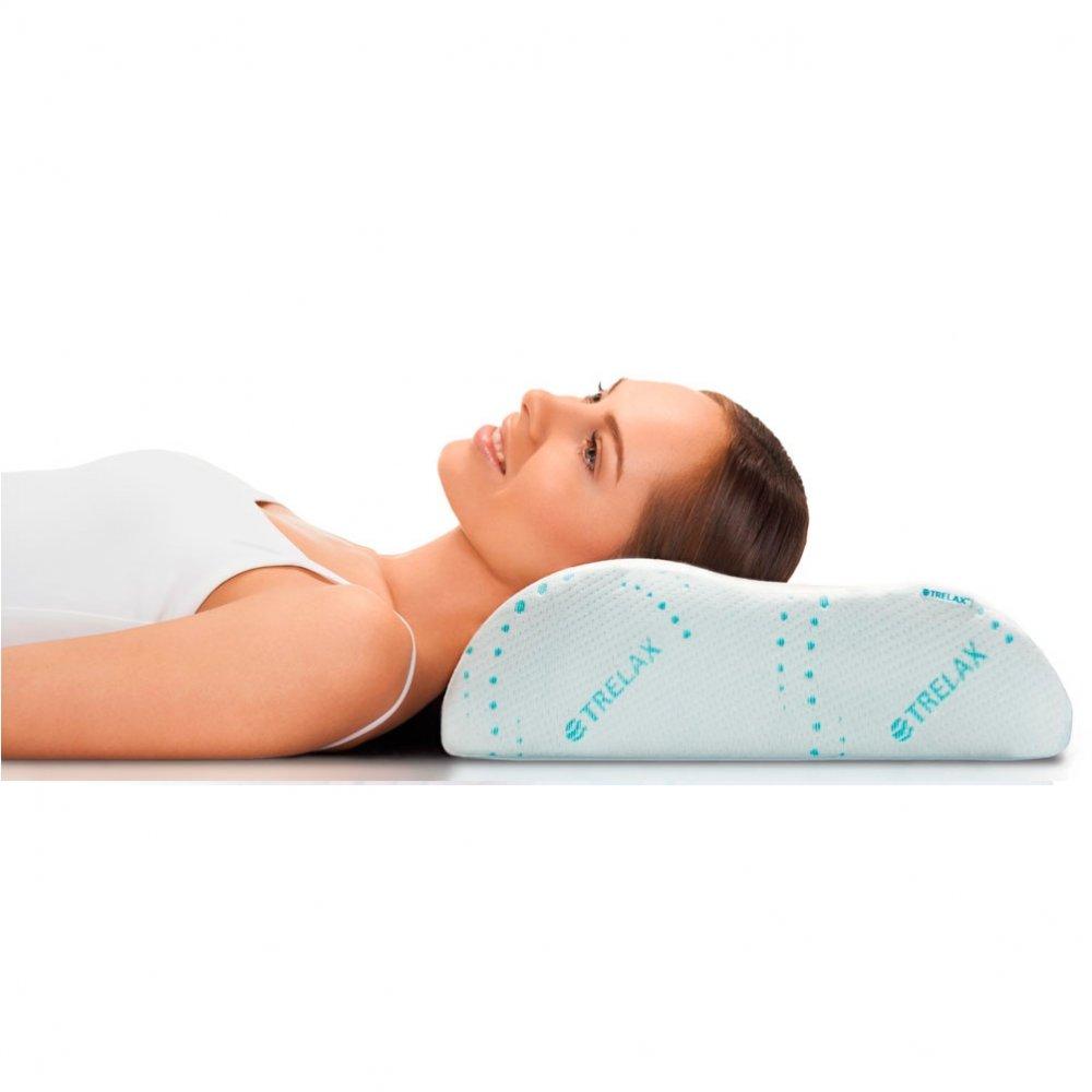 Трелакс подушка ортопедическая с эффектом памяти Респекта