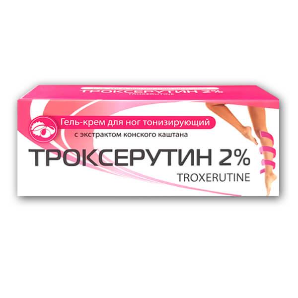 Троксерутин A-LAB гель-крем тонизирующий 2% 50мл фото