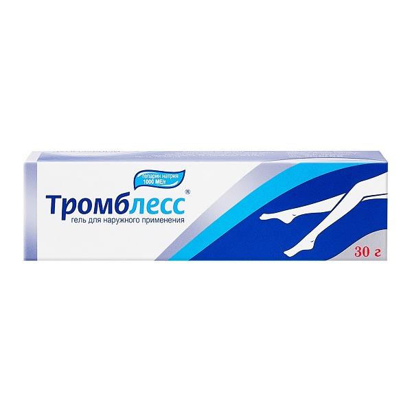 Тромблесс гель (туба 30г)