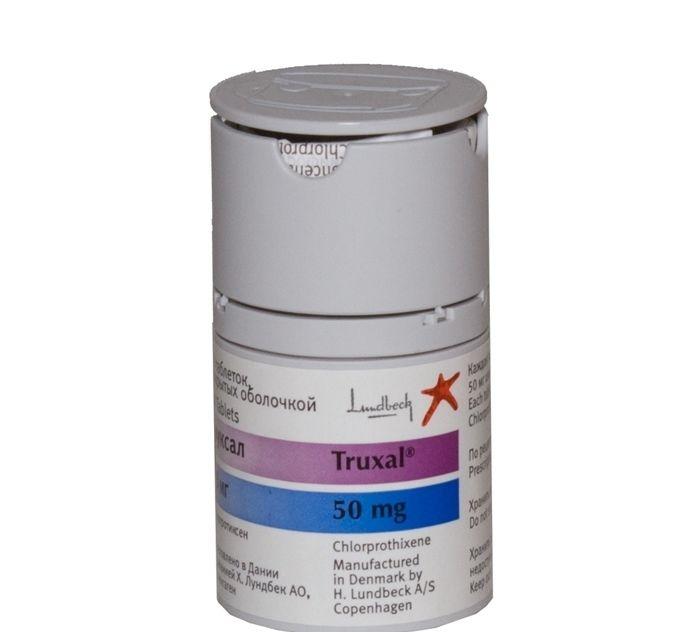 Труксал (хлорпротексен) (таб. п/о 50мг №50)