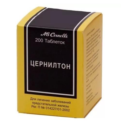 Цернилтон таблетки №200