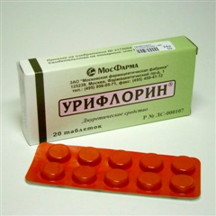 Урифлорин Толокнянка таблетки №20