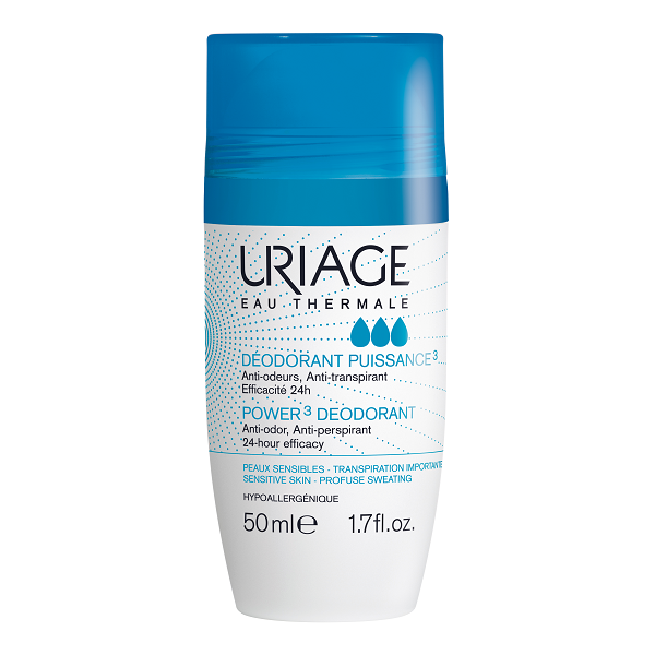 Урьяж дезодорант тройного действия для чувствительной кожи 30мл