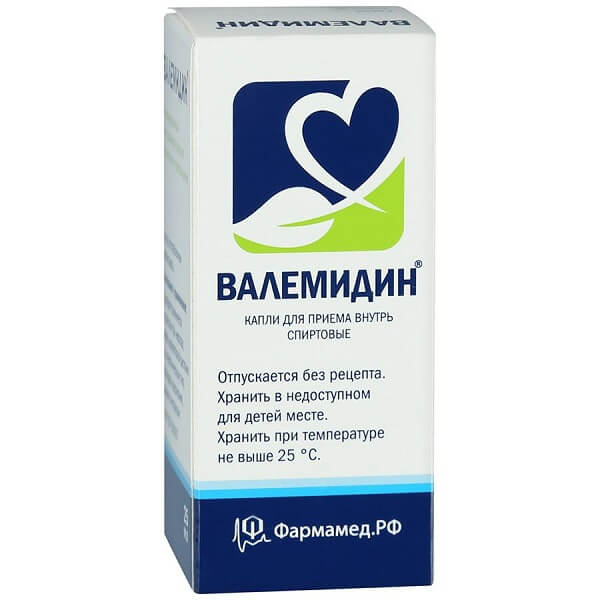 Валемидин (фл.25мл)