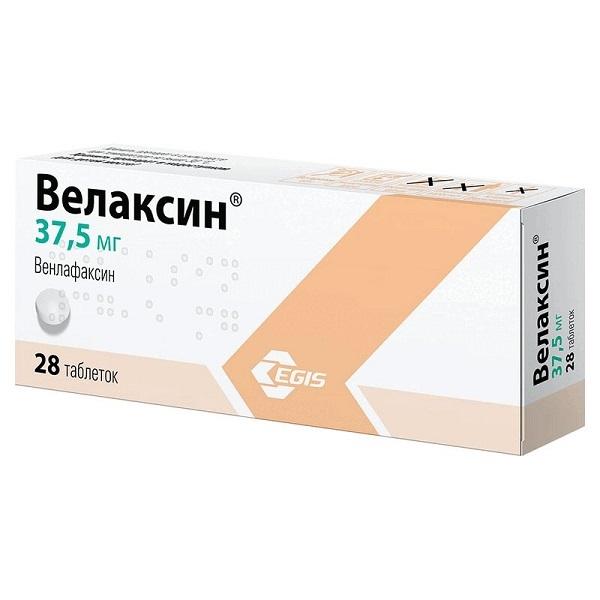 Велаксин (таб. 37,5мг №28)
