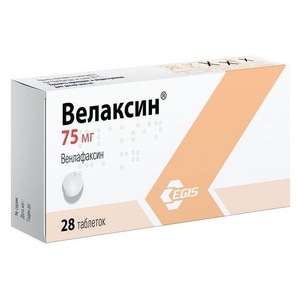 Велаксин (таб. 75мг №28)