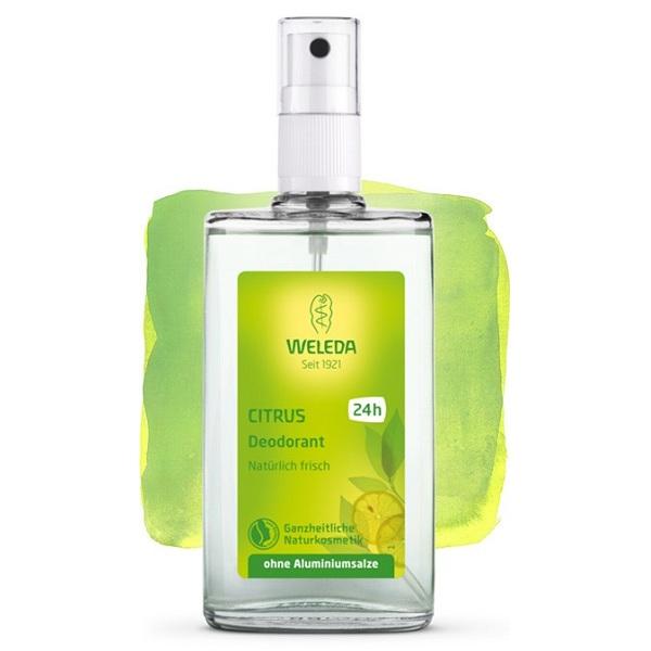 Веледа дезодорант (цитрусовый  стекл.фл. с распылителем