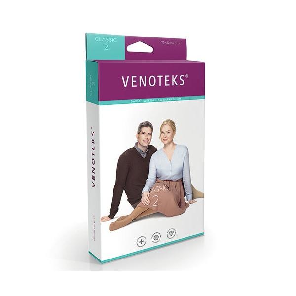 Венотекс чулки компрессионные 2С214 размер XL черные для мужчин фото