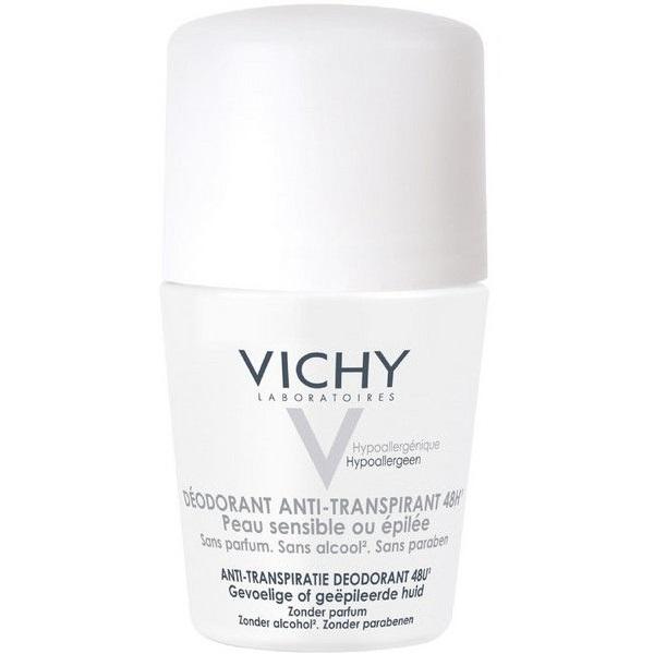 Виши дезодорант шариковый 48 часов для чувствительной кожи 50мл