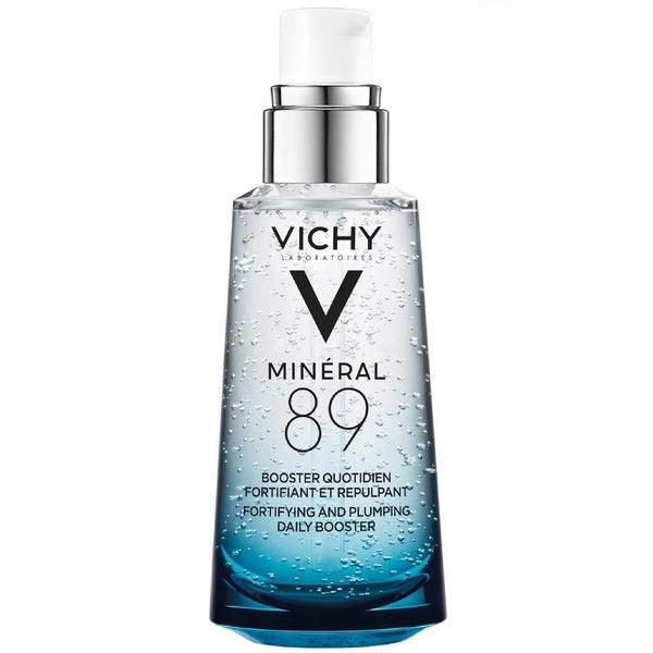Виши минерал 89 Ежедневный гиалуроновый гель-сыворотка для кожи, подверженной агрессивным внешним воздействиям