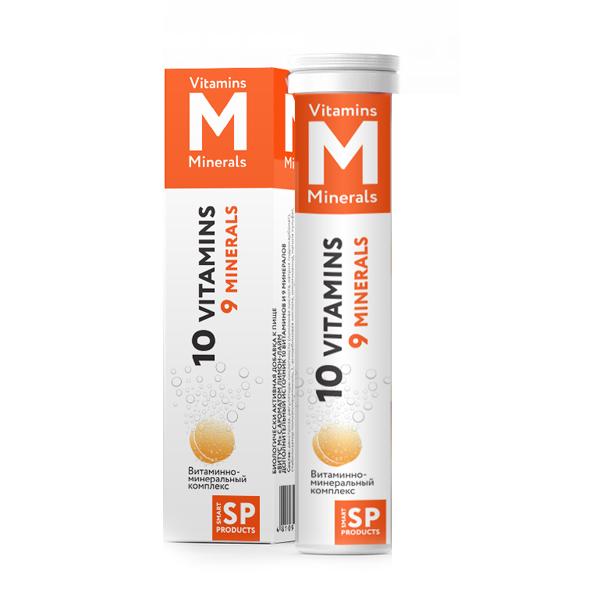 Витаминно-минеральный комплекс таблетки шипучие №20 фото