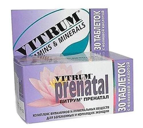Витрум Пренатал таблетки №30