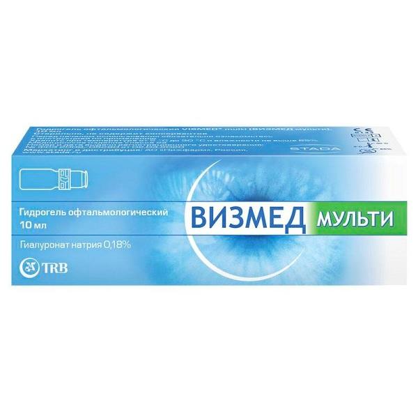 Визмед Мульти средство увлажняющее для глаз и контактных линз 10мл