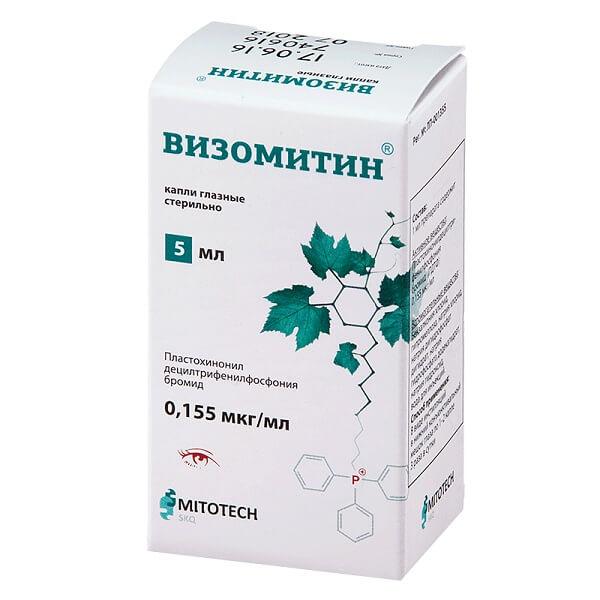 Визомитин (гл. кап. фл. 5мл)