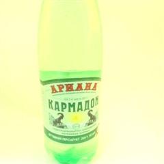 Вода Кармадон минер. (1,5л ПЭТ зелен.пластик газир.) фото