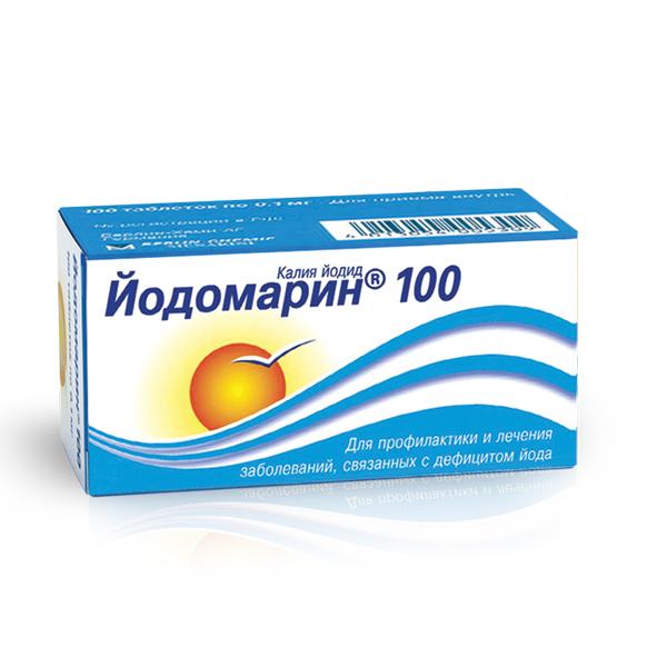 Йодомарин (таб. 100мкг №100)