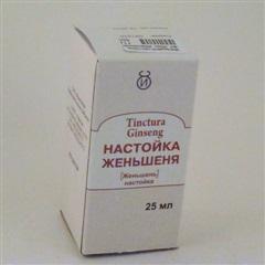 Женьшеня настойка (фл. 25мл)